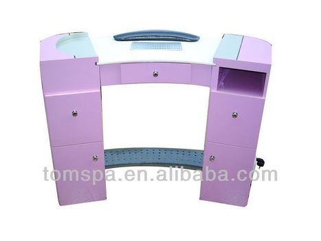2013 Fashion Style Newest Wood And Glass Beauty Salon Nail Tables For | mertcandas | Scoop.it