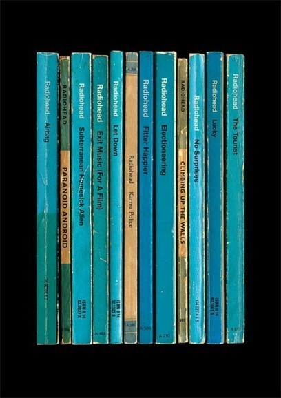 Eight Radiohead Albums Reimagined as Vintage Paperback Books ... | VintageLifeStyle | Scoop.it