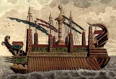 El Siracusia, el barco más grande de la Antigüedad que diseñó Arquímedes | LVDVS CHIRONIS 3.0 | Scoop.it