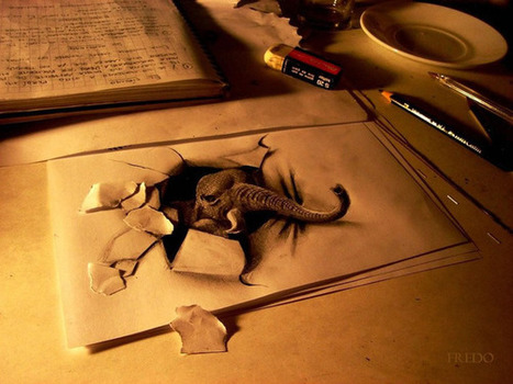 Amazing 3D Drawings | Creativity and imagination | Scoop.it