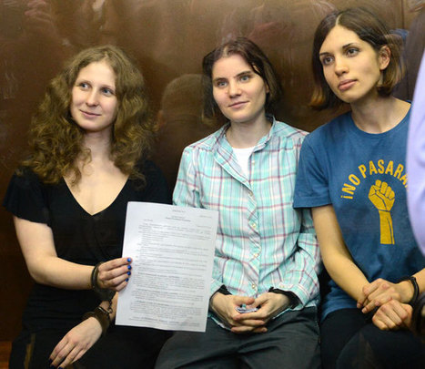 Letter from Pussy Riot for Slavoj Zizek | Gauche na vida | Scoop.it