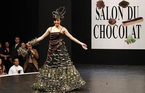 Chocolate designs on the catwalk at La Maison du Chocolat in Paris - Telegraph | Chocolate Chic | Scoop.it