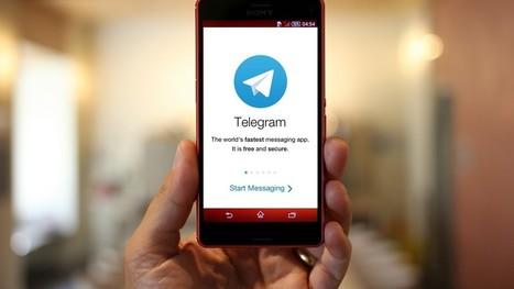 Les politiques veulent contrôler la messagerie cryptée Telegram...mais l'utilisent (presque) tous | Actualités, influences, stratégies | Scoop.it