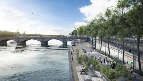 Les fleuves européens, nouveaux territoires urbains | Immobilier | Scoop.it