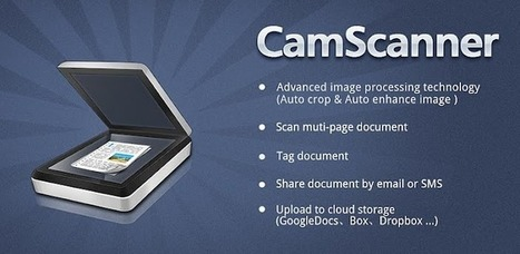 CamScanner -Phone PDF Creator - Apps on Android Market | mlearn | Scoop.it