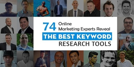 74 Online Marketing Experts Reveal The Best Keyword Research Tools | Public Relations for School Administrators | Scoop.it