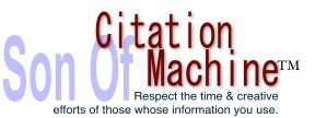 Son of Citation Machine | Plagiarism and Academic Integrity | Scoop.it