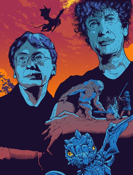 """Let's talk about genre"": Neil Gaiman and Kazuo Ishiguro in conversation | Chutes de Rozan | Scoop.it"