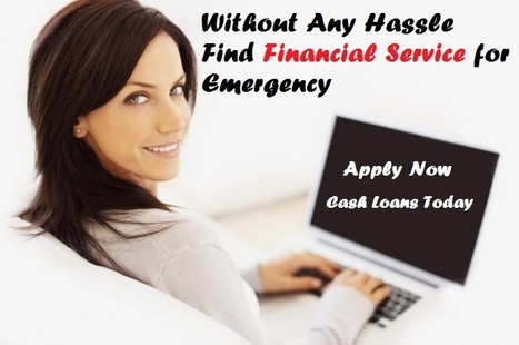 Without Any Hassle Find Financial Service for Emergency | Bad Credit No Fee Loans | Scoop.it