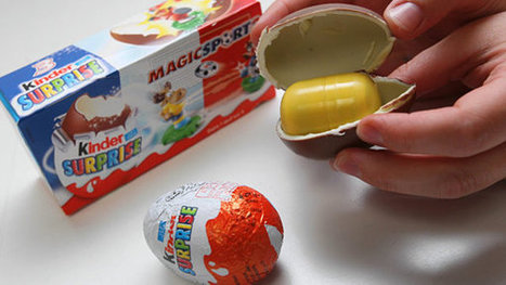 Toy-Filled Chocolate Eggs Legal in US | It's Show Prep for Radio | Scoop.it
