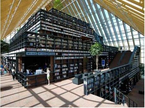 Ouverture de la Book Mountain   Architecture des bibliothèques   Scoop.it