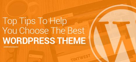 Top Tips To Help You Choose The Best Wordpress Theme | Creative Wordpress Theme | Scoop.it
