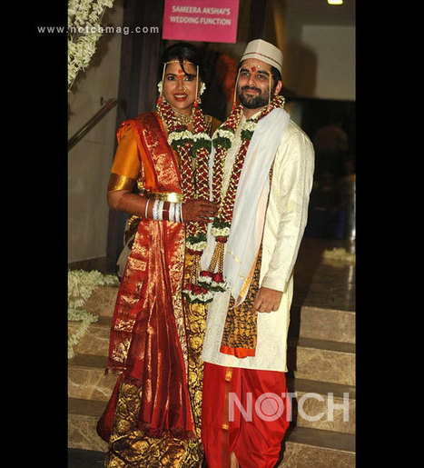 Sameera Reddy Ties The Knot With Akshai Varde | Bollywood Celebrities News, Photos and Gossips | Scoop.it