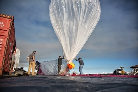 Google's Ambitious Balloon-Powered Internet Project | Le It e Amo ✪ | Scoop.it