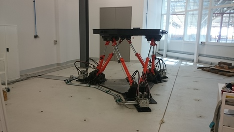 Flinders University Hexapod Demonstration | SimulationWeek | Scoop.it