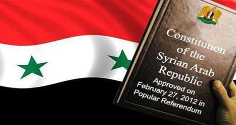 Constitución de la República Árabe Siria | La Agencia Árabe Siria de Noticias | Global politics | Scoop.it