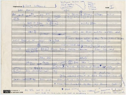 John Coltrane's Handwritten Outline for His Masterpiece A Love Supreme | IELTS, ESP, EAP and CALL | Scoop.it