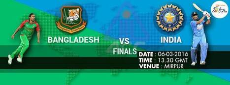 Asia Cup, Final: Bangladesh v India at Dhaka, Mar 6, 2016 - Live Cricket Score - UpCric.com | Live Cricket Scores and Match Highlights | Scoop.it