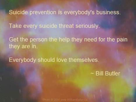 Suicide Prevention Is Everybody's Business | Text Hotlines | Scoop.it
