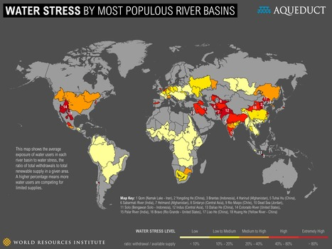 World's 18 Most Water-Stressed Rivers | World Resources Institute | Friday Links | Scoop.it