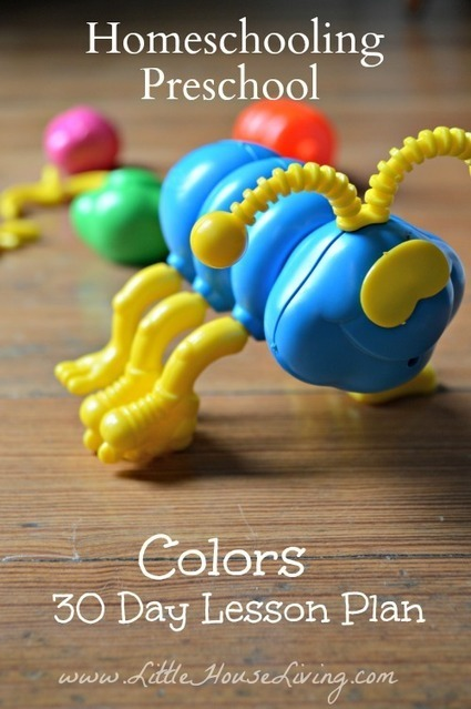 30 Days of Colors – Preschool Lesson Plan | Learning and Teaching Literacy | Scoop.it