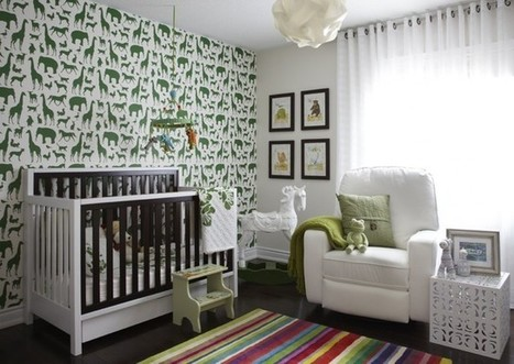 Oh, Baby! 12 Ideas to Get a Chic Nursery Rolling | Designing Interiors | Scoop.it