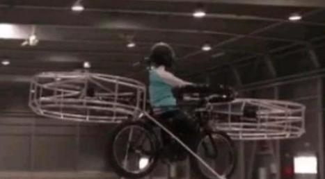 Le vélo volant électrique : premier décollage réussi ! - Atlantico.fr   velocosm   Scoop.it