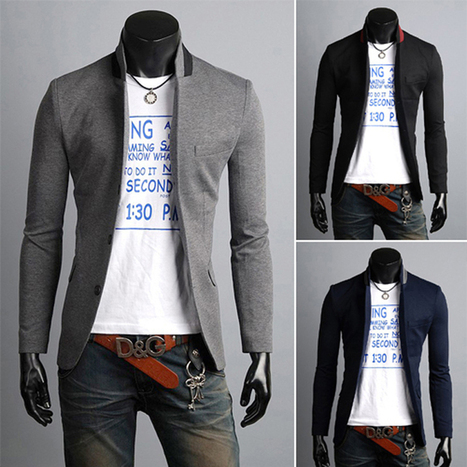Free Shipping 2013  Fashion Men's Small Suit  Leisure Fashion Slim Fit Casual Suit Top size  M XXL MWX013-in Blazers from Apparel & Accessories on Aliexpress.com | Celebrity fashion | Scoop.it