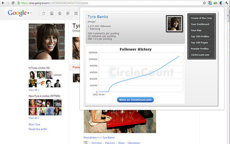 CircleCount: Google+ stats extension for Chrome | GooglePlus Expertise | Scoop.it