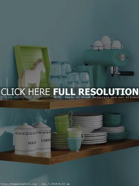 Unique Turquoise Kitchen Decorating | Home Design | Scoop.it