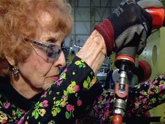 A Rosie the Riveter original, still on the job at 93 - NBCNews.com (blog) | tesis | Scoop.it