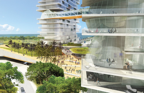Coconut grove Miami proposals by DS+R, Jean Nouvel and Christian de Portzamparc - designboom | architecture & design magazine | The Architecture of the City | Scoop.it