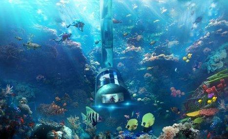 Cet hôtel sous-marin pourra se déplacer tout seul... | Dans l'actu | Doc' ESTP | Scoop.it