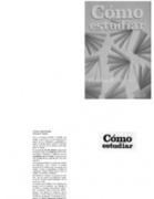 Como Estudiar - Thomas F Staton - Editorial Trillas | Métodos de estudio | Scoop.it