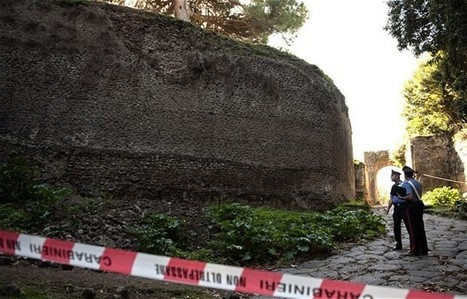 Pompeii wall collapses, despite new conservation initiative   Ancient History   Scoop.it