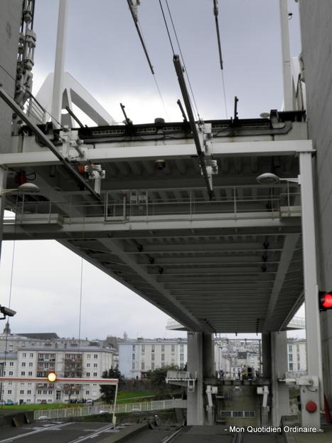 Quand le pont de Recouvrance se lève - Madame Ordinaire | Blog Bretagne | Scoop.it