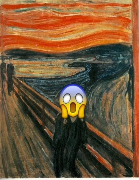 10 Famous Artworks Remixed With Emojis | Modern and Contemporary Art | Scoop.it