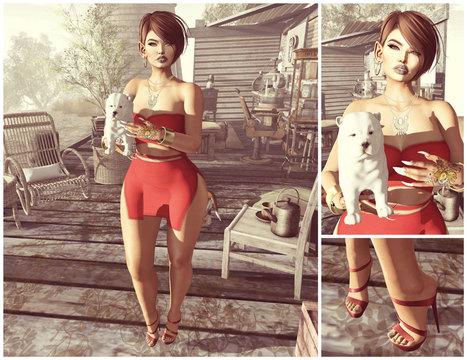 #1199:  Blaire | 亗 Second Life Freebies Addiction & More 亗 | Scoop.it