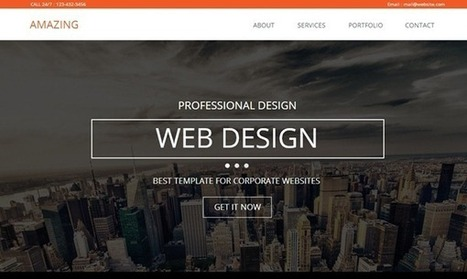 Best Muse Templates Of The Week : March 17, 2014–March 23, 2014 | Templates And Themes | Scoop.it