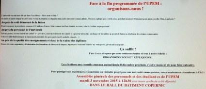 Triple déficit pour Marne-la-Vallée | Enseignement Supérieur et Recherche en France | Scoop.it