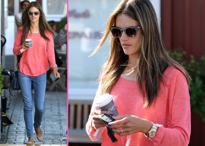 Alessandra Ambrosio's End of the Week Coffee Run - Sexy Balla | News Daily About Sexy Balla | Scoop.it