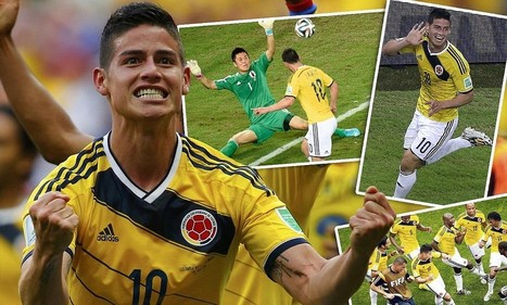 James Rodriguez is the perfect 10 alongside Neymar, Lionel Messi and Karim ... - Daily Mail | European Leagues | Scoop.it