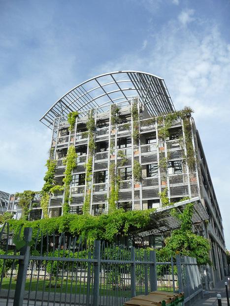 Les immeubles végétalisés autour du jardin Biopark (Paris 13e) | Agriculture urbaine, architecture et urbanisme durable | Scoop.it