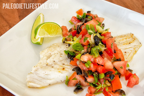 Cod With Italian Style Salsa | Paleo Diet Lifestyle | Truly Healthy Recipes | Scoop.it