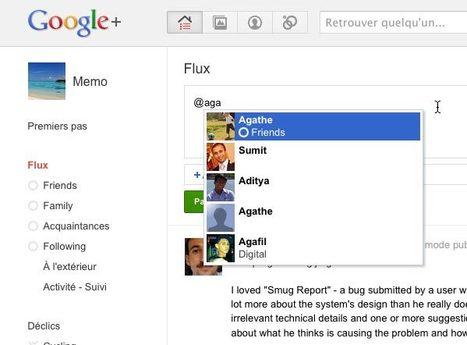 Google + : comment envoyer un message privé ? | Astuces | Scoop.it