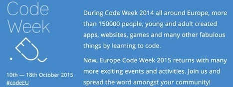 Code week 2015 important dates | academic hipster | Scoop.it