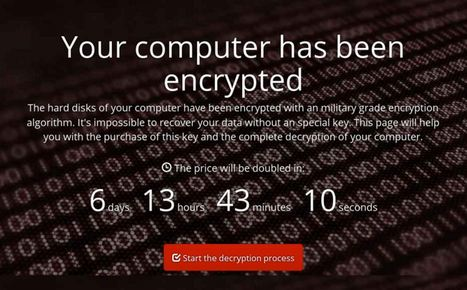 Petya : un nouveau ransomware qui chiffre l'ensemble du disque | For a best consideration of Cybersecurity challenges in Africa | Scoop.it