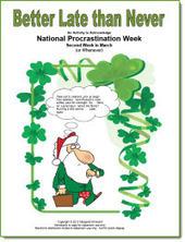 Better Late than Never: Procrastination Week | Seasonal Freebies for Teachers | Scoop.it