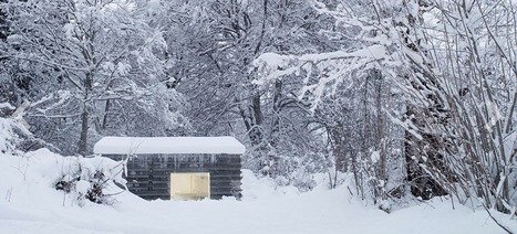 This Cozy Log Cabin in the Swiss Alps Is Completely Made of Concrete | Strange days indeed... | Scoop.it