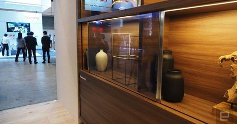 Panasonic's new prototype TV can hide in plain sight | Heron | Scoop.it